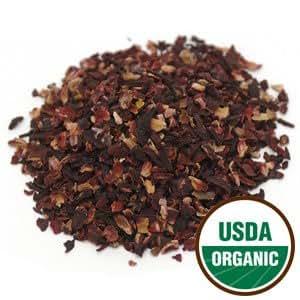 Organic Dried HIBISCUS for Flavoring Kombucha (20-30 Servings)