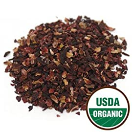 Organic Dried HIBISCUS for Flavoring Kombucha (20-30 Servings) 5 100% Organic & Fair Trade The natural benefits in the flavorings are passed on to you through your Kombucha Give Kombucha a fresh and fruity flavor