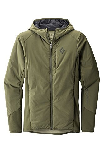 Black Diamond First Light Jacket Women grey/black 2017 winter jacket Burnt Olive