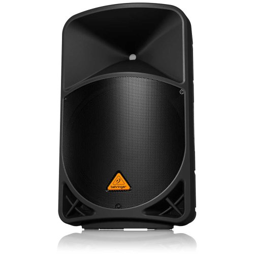 "Behringer Eurolive B115D Active 2-Way 15"" PA Speaker System with Wireless Option and Integrated Mixer"