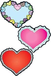 Carson Dellosa - Figuras Troqueladas - Hearts - Cut-Outs - (Dj-62016)