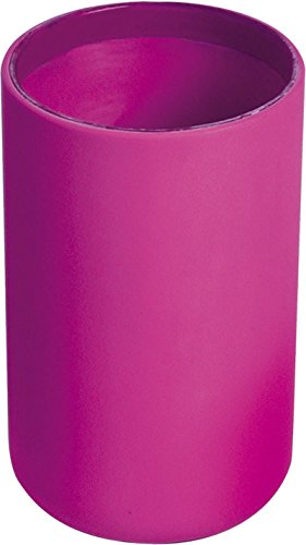EVIDECO Vanity Bathroom Soft Touch Design Tumbler, Pink (Tumbler Soft Touch)