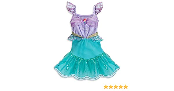 Disney Store The Little Mermaid Ariel Costume Dress Up Size 3-6 Months  Baby