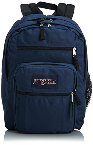 Jansport Big Student Classics Series Backpack   Navy