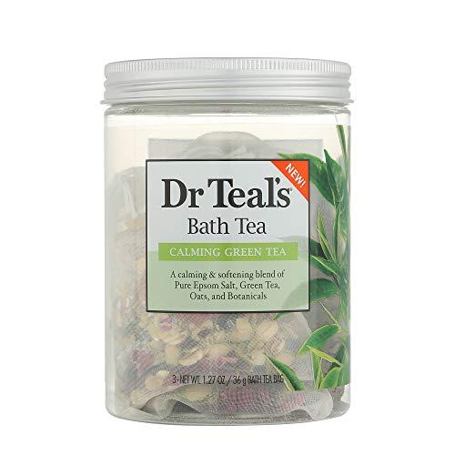 Dr Teal's Green Tea Bath Soaks 3oz, pack of - Tea Bath