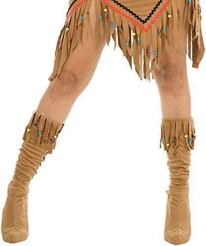 Indian Maiden Suede Boot Tops - Adult Small/Medium -