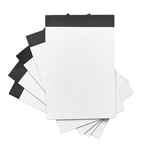DALIX Scratch Pad Jotter Notepad Organizer Blank Refill Paper 3