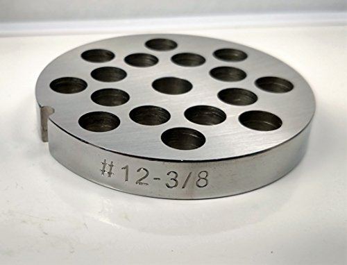 Food Service Knives #12 Meat Grinder Plate (3/8 in.) by Food Service Knives
