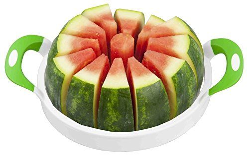 Stainless Steel Melon Slicer, Watermelon, Cantaloupe, Pineapple Cutter, - 12 Slices