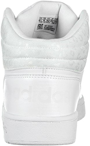 adidas Grey Hoops 0 2 Women's White VS White Mid One W qwf4Aq