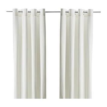 Vorhang Ikea amazon de ikea vorhang paar merete blickdichte gardinen aus 100