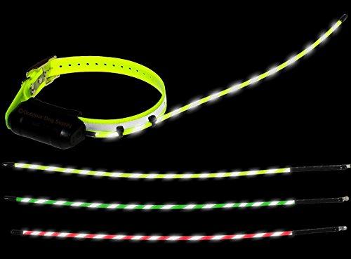Outdoor Dog Supplys Reflective Glow Tuff Long Range Collar Antennas for the Garmin Dc30 & Dc40 Tracking Collars (Reflective Orange)