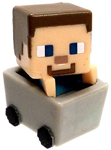 Minecraft Minifigure Minecarts Series 1 Mystery Minis Steve Figure NEW