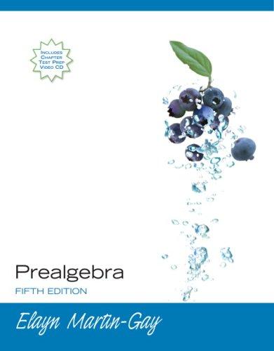 Prealgebra Value Pack (includes Math Study Skills & MyMathLab/MyStatLab Student Access Kit )