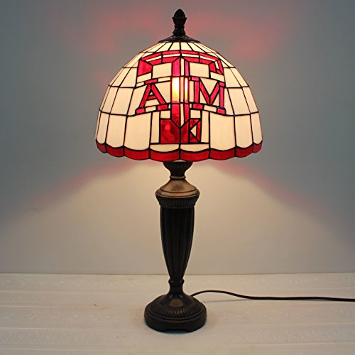 Texas A&m Tiffany Table Lamp - 1
