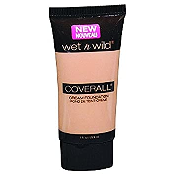 Amazon.com : WET N WILD Coverall Cream Foundation - Tan : Foundation Makeup : Beauty