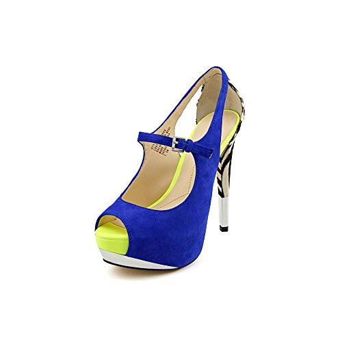 Pompa Da Nickeya Boutique 9 Da Donna Blu-nera