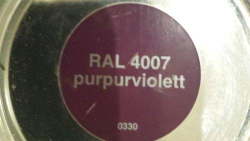 8,00Euro/L 0,375 L Schöner Wohnen Buntlack purpurviolett RAL 4007 Lack lila
