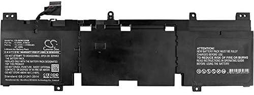DELL Alienware 13 R2 13.3 Cameron Sino 3100mAh Replacement Battery for DELL Alienware 13 R2 DELL AW13R2-1678SLV