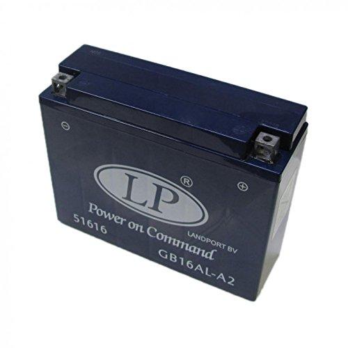 YB16AL-A2 Motorcycle Battery Gel Sealed 12v 16.0Ah Landport