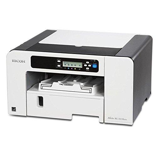 Ricoh Aficio SG 3110DNw Farbdrucker (3600x1200 dpi, Ethernet 10 base-T/100 base-TX, WLAN, USB 2.0) grau