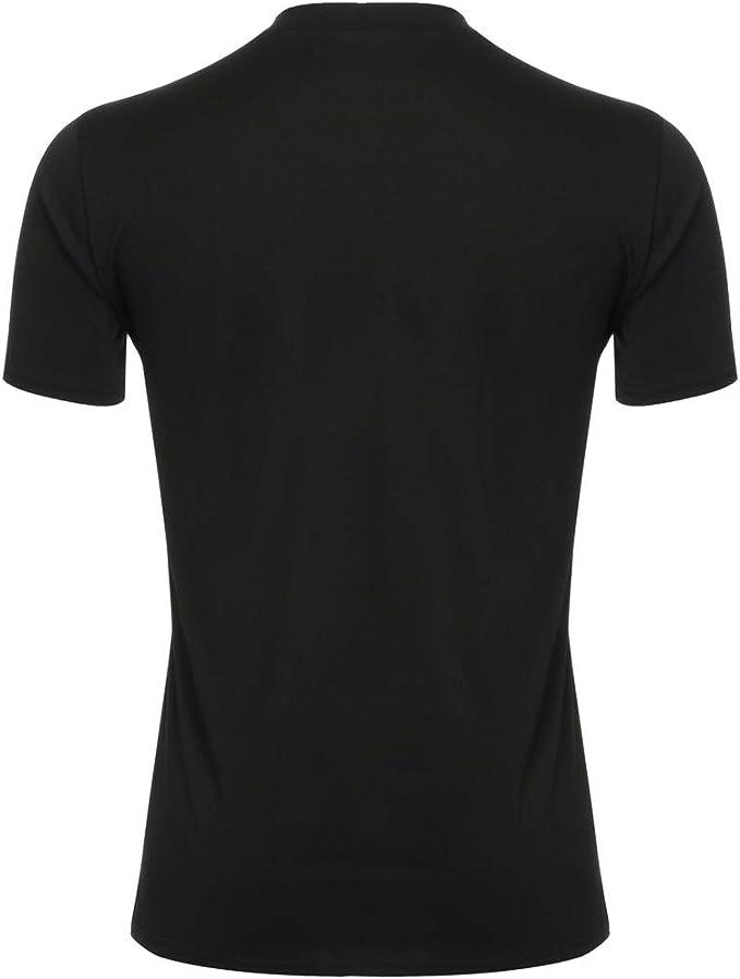 Polo para Hombre de Manga Corta Casual Moda Algodón Camisas Denim ...