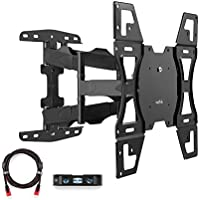 Suptek Articulating Full Motion Tv Wall Mount For 26-55 LED LCD Plasma TVs VESA Standard Up To 400x400mm,100 lbs Weight Capacity MA52A