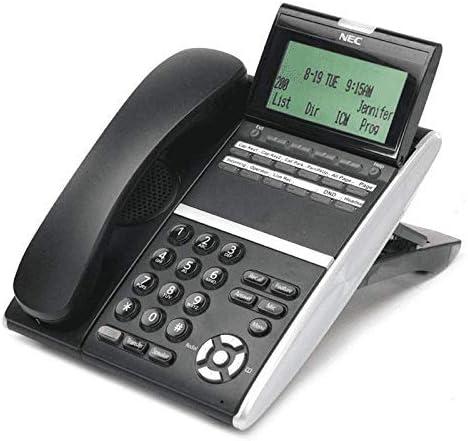 Renewed NEC 650002-27079 650002 NEC DTZ-12D-3 DT400 12-Button Display Phone Black
