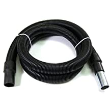 Clayton 671-VHX24-20  Static Conductive Vacuum Hose for General Cleanup, 1.5-Inch Inner Diameter x 20 Feet Long, Black