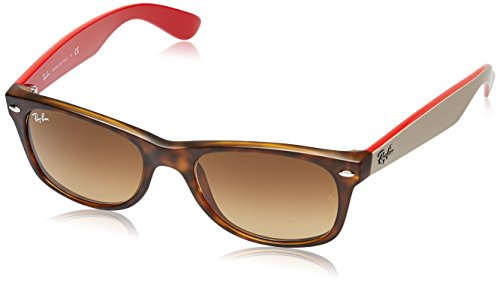 Ray-Ban New Wayfarer Classic, Havana Brown Gradient & Dark ()