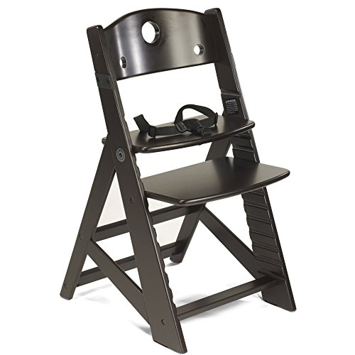 5 Point Harness System Wooden High Chair Removable