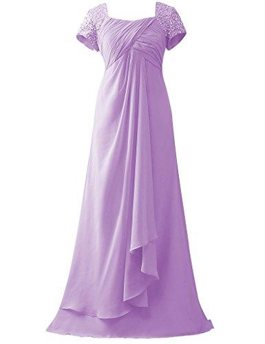 HUINI HUINI Vestito Vestito Lilac Donna Z1dHdx5q