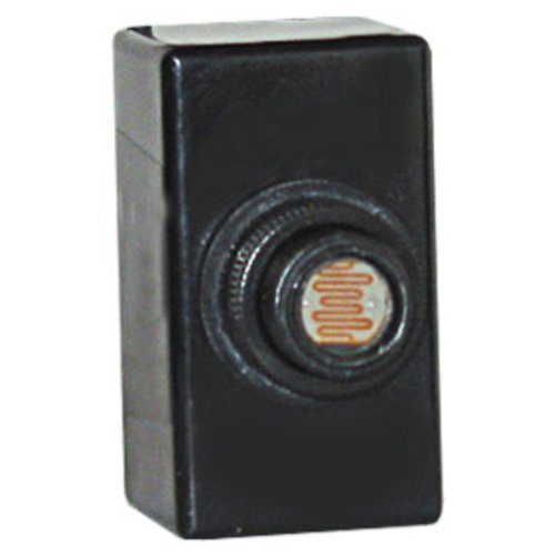 NSI 3002 Thermal Flush Mounting Photocontrol 208 - 277 Volt AC SPST Black Tork by NSI