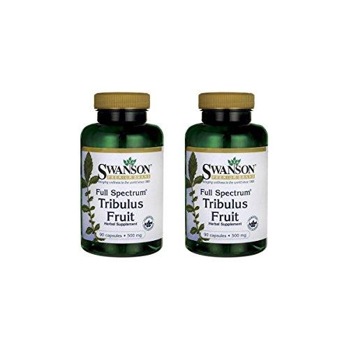 Cheap Swanson Full-Spectrum Tribulus Fruit 500 mg 90 Caps 2 Pack