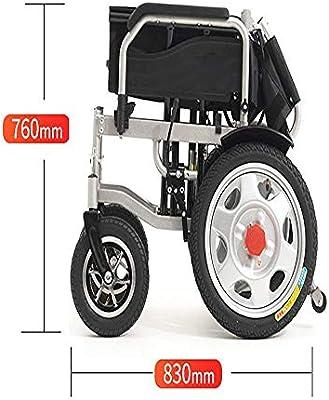 Silla de ruedas eléctrica manual eléctrica de doble uso para dos ...