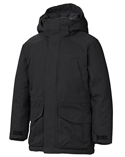 Marmot Kids Boy's Boy's Bridgeport Jacket (Little Kids/Big Kids) Black X-Large by Marmot
