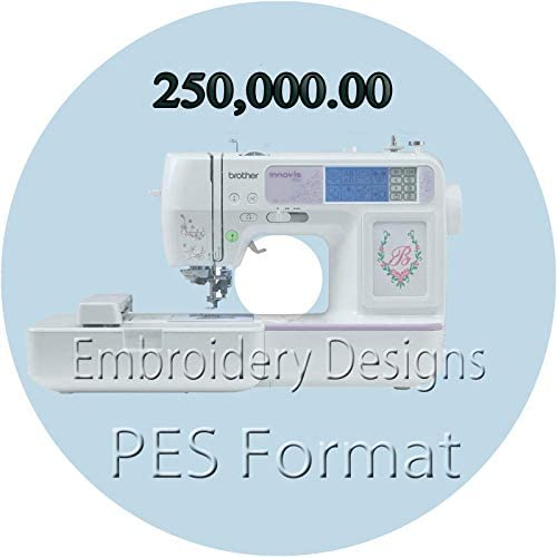 +150,000 PES Brother Embroidery Machine Designs on USB drive HUGE COLLECTION!