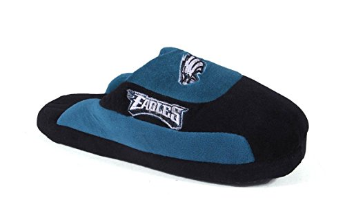 Nfl Comfy Feet - PHI07-4 - Philadelphia Eagles - XL - Happy Feet & Comfy Feet NFL Low Pro Slippers