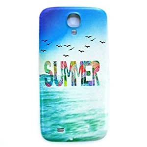 PEACH- Summer Beach Pattern Thin Hard Case Cover for Samsung Galaxy S4 Mini I9190
