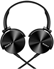 SONY Japan MDR-XB450 BLACK Extra Bass Overhead Japan Headphone