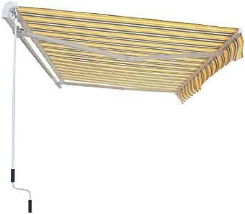 Greenbay toldo Manual retráctil, con accesorios y manivela: Amazon.es: Jardín