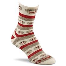 Fox River Red Heel Monkey Stripe Lightweight Crew Socks - Best Seller!