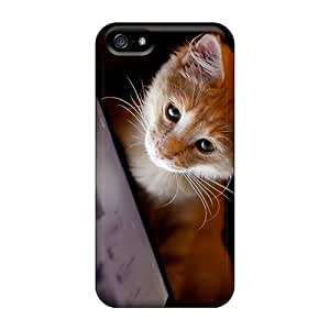 Ultra Slim Fit Hard AleighasZelaya Case Cover Specially Made For Iphone 5/5s- Cat