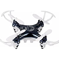 Flymemo FQ777 951W WIFI Mini Pocket Drone FPV 4CH 6-Axle Gyro Quadcopter with 30W Camera Smartphone Holder Transmitter Headless Mode 3D-flip Function - Black