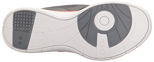 Ryka Damen Delish Tennis-Schuhe Grau / Koralle