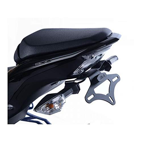 Support de plaque R/&G RACING noir Kawasaki Z900