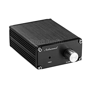 Nobsound 100W Subwoofer Digital Power Amplifier Audio Mini Amp (Black)