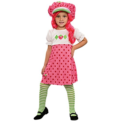 Strawberry Halloween Costumes Toddler - Strawberry Shortcake Toddler Costume