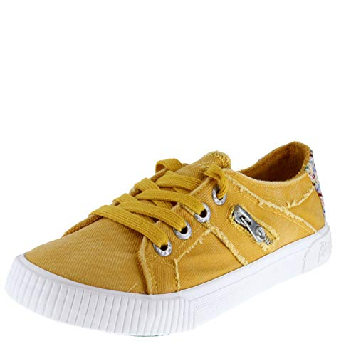 Blowfish Fruit Mustard Hipster Smoked Twill Womens Sneakers Size 7M