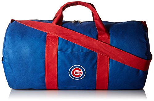 MLB Chicago Cubs Vessel Barrel Duffle Gym Bag